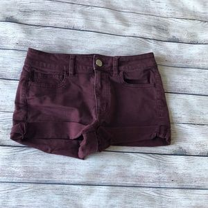 American Eagle Outfitters High-Rise Shortie Size 4